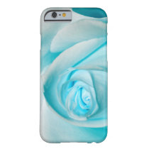 Turquoise Ice Rose Barely There iPhone 6 Case
