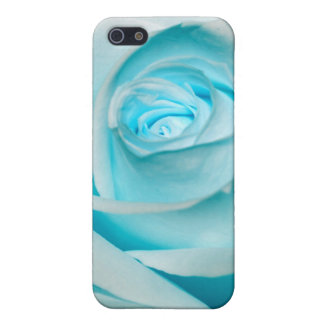 Turquoise Ice Rose Case For iPhone SE/5/5s