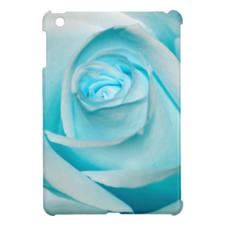 Turquoise Ice Rose Case For The iPad Mini