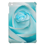 Turquoise Ice Rose iPad Mini Case