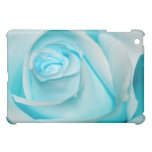 Turquoise Ice Rose iPad Mini Cases