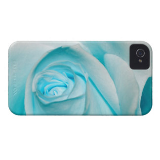 Turquoise Ice Rose iPhone 4 Case