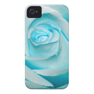 Turquoise Ice Rose iPhone 4 Cover