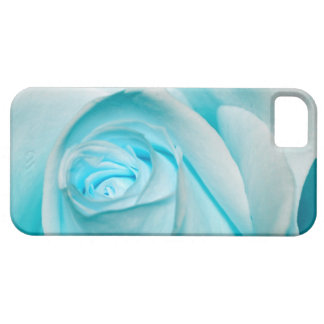 Turquoise Ice Rose iPhone 5 Case