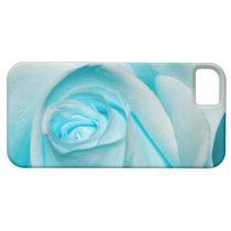 Turquoise Ice Rose iPhone SE/5/5s Case