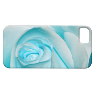 Turquoise Ice Rose iPhone SE/5/5s Case