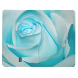 Turquoise Ice Rose Journals