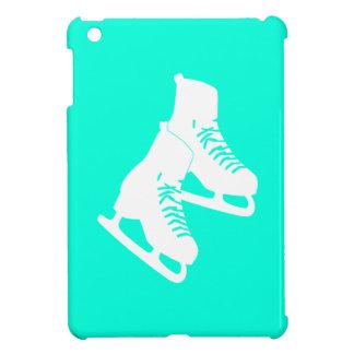 Turquoise Ice Skates iPad Mini Case