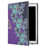 """Turquoise Indigo Fractal Celtic Triquetra iPad Pro iPad Pro 12.9"""" Case"""