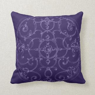 Turquoise Iron Medallian Pillow