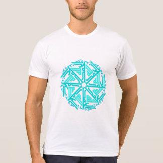 Turquoise Islamic Decoration Men's T-Shirt