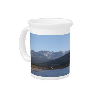 Turquoise Lake, Colorado Beverage Pitcher