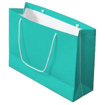 Turquoise Large Gift Bag