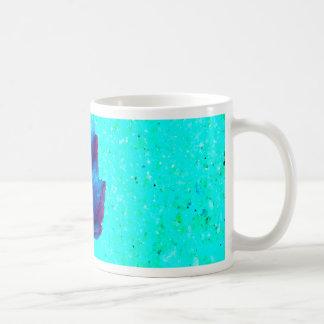 Turquoise - Leaf Nature - CricketDiane Art Coffee Mug