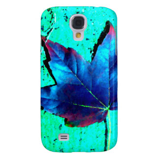 Turquoise - Leaf Nature - CricketDiane Art Samsung Galaxy S4 Case