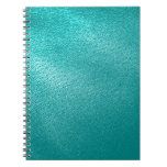 Turquoise Leather Look Notebooks