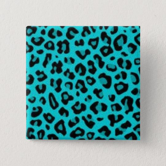 Turquoise Leopard Pin