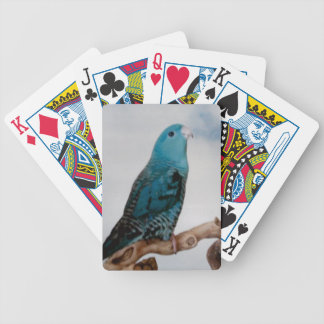 Turquoise Linnie Bicycle Playing Cards