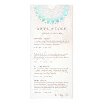 Turquoise Lotus Massage Therapist Price List Menu