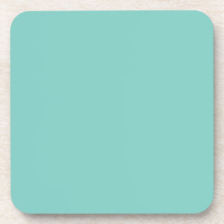 Turquoise Love Beverage Coaster