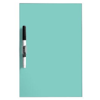 Turquoise Love Dry-Erase Board