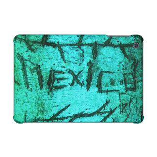 Turquoise Mexico Tree Graffiti iPad Mini Retina Case