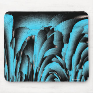 Turquoise mineral mouse pad
