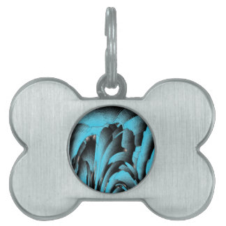 Turquoise mineral pet name tags