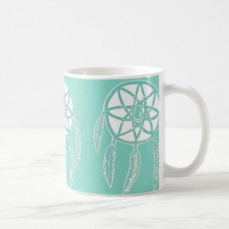Turquoise Mint Dreamcatchers Mug