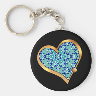 Turquoise Mix & Match Collectables - 11 Keychain