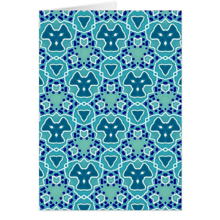 Turquoise Mix & Match Collectables - 13 Card