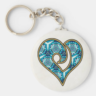 Turquoise Mix & Match Collectables - 14 Keychain