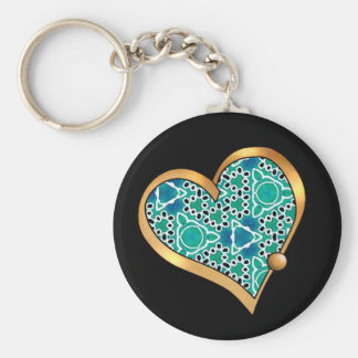 Turquoise Mix & Match Collectables - 5 Keychain