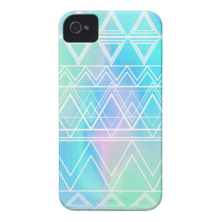 Turquoise Multi Tribal iPhone 4 Covers