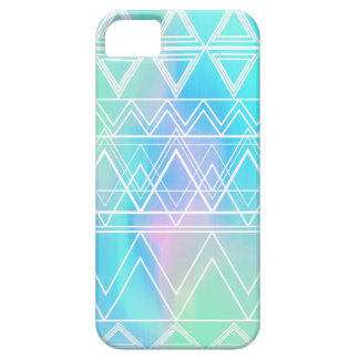 Turquoise Multi Tribal iPhone SE/5/5s Case