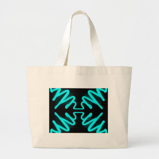 Turquoise Neon Urban Art by CricketDiane Canvas Bags