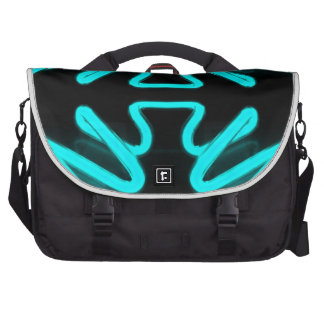 Turquoise Neon Urban Art by CricketDiane Laptop Bags