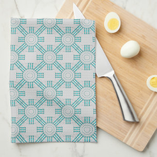 Turquoise Nexus Kitchen Towel