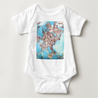 Turquoise Nugget Baby Bodysuit