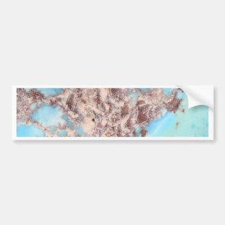 Turquoise Nugget Bumper Sticker