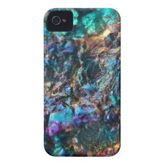 Turquoise Oil Slick Quartz iPhone 4 Case