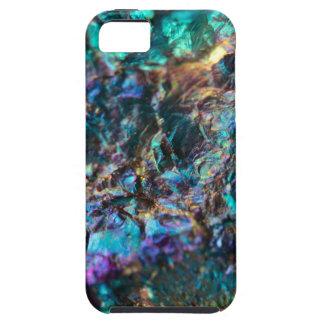 Turquoise Oil Slick Quartz iPhone SE/5/5s Case