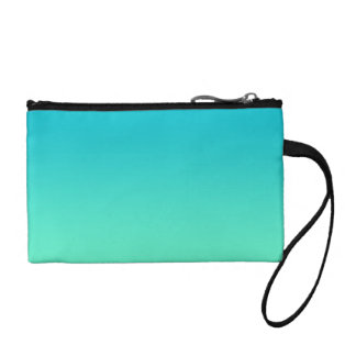 Turquoise Ombre Change Purse