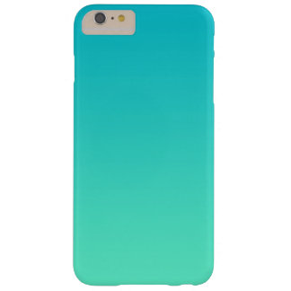 Turquoise Ombre Barely There iPhone 6 Plus Case