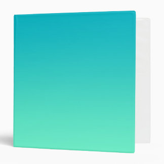 Turquoise Ombre Binder