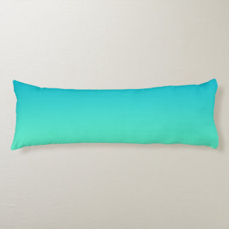 """Turquoise Ombre"" Body Pillow"