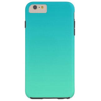 Turquoise Ombre Tough iPhone 6 Plus Case