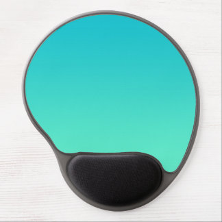 """Turquoise Ombre"" Gel Mouse Pad"