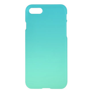 Turquoise Ombre iPhone 7 Case
