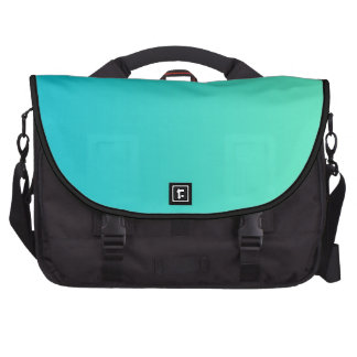 """""""Turquoise Ombre"""" Computer Bag"""